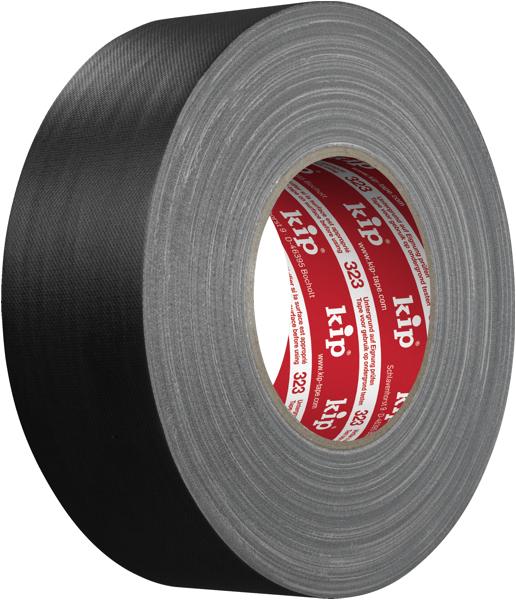Kip 323 Gaffer's Tape schwarz