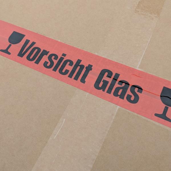"""""""Vorsicht Glas"""" standard"""